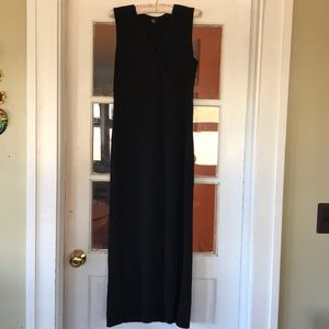 Black slip on Gap dress